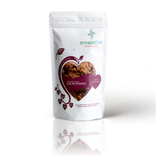 SynerChi Raw Cacao Powder - Organic 250g