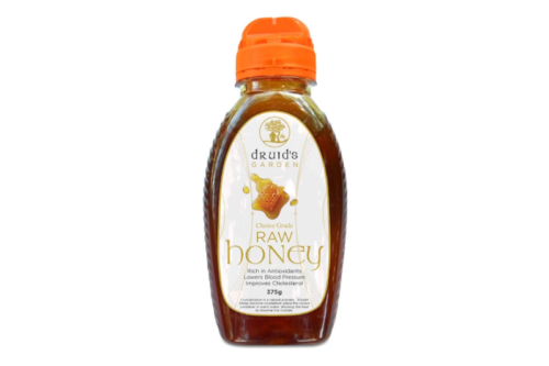 Druids Garden Raw Honey Squeeze 375g
