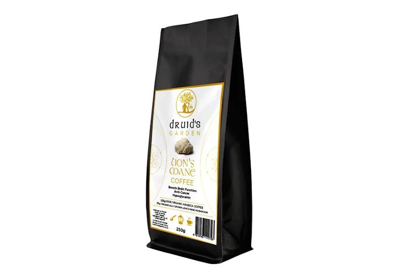 Druids Garden Lions Mane Coffee 250g Ground